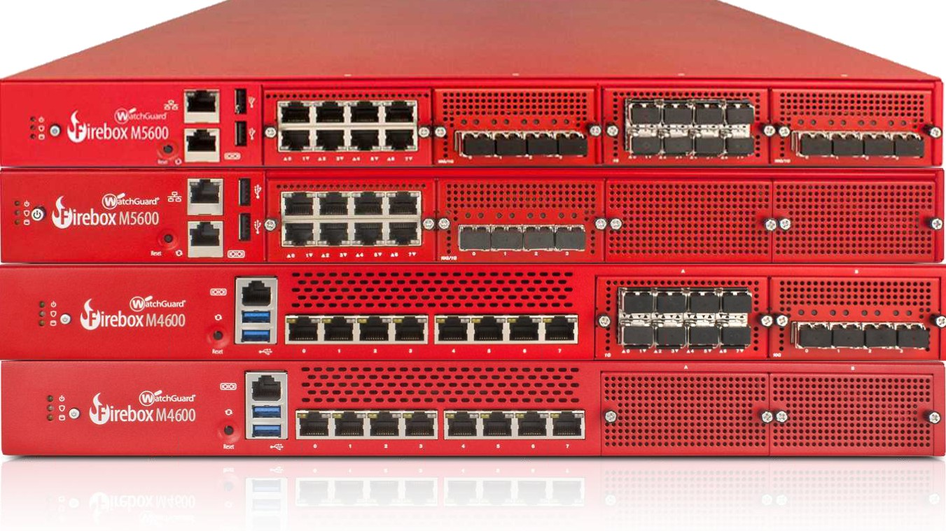WatchGuard Firebox M4600 und M5600 Firewall